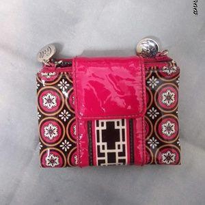 Vera Bradley/ Pink Daisy Bag w/Wallet